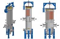 Vertikálne filtre-separátory